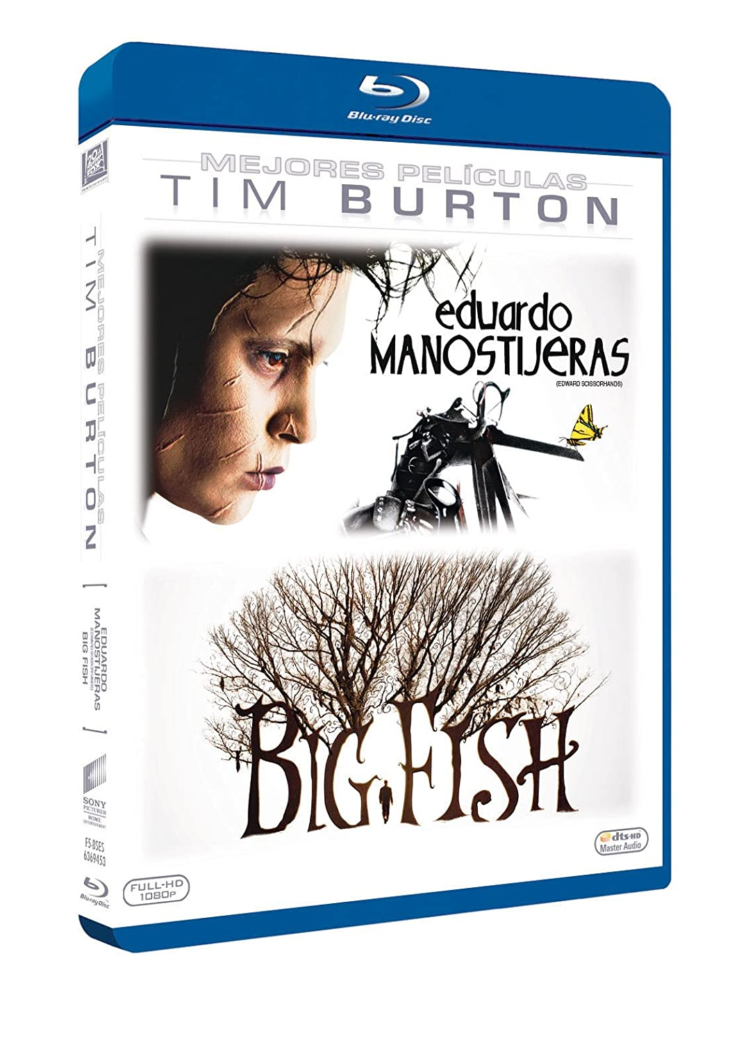 Col. Tim Burton - Blu-Ray Duo [Blu-ray]: Amazon.es: Johnny Depp ...