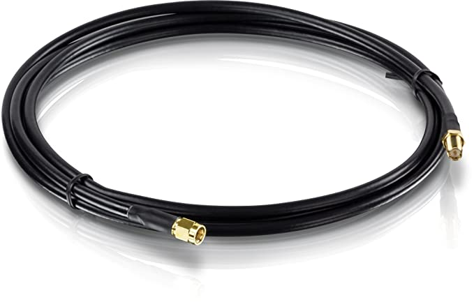 Amazon.com: TRENDnet LMR400 N-Type Male to N-Type Female Weatherproof Cable (12M/39.4 Ft.) TEW-L412: Electronics