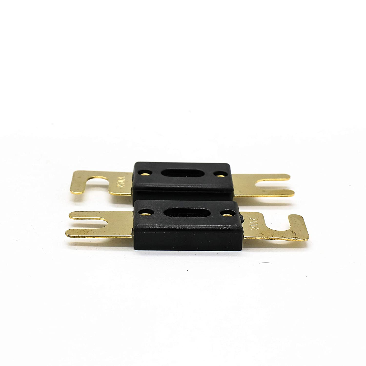 2PCS ANL-250 250Amp Car Amplifier Fuse Gold Plated for Car Vehicles Audio System 2pc ANL 150amp Fuse