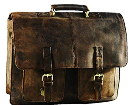 Image Unavailable. Image not available for. Color  Satchel and Fable Leather  Laptop Messenger Bag for Men - Premium Office Briefcase ... 3b570d3182912