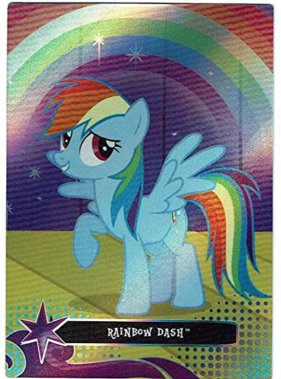 Amazoncom Rainbow Dash Series 2 My Little Pony Dog Tag Foil