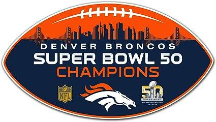 NFL Denver Broncos Denver Broncos 4-Piece Magnet Set Navy,