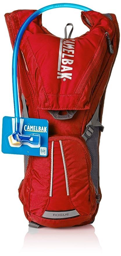Camelbak Rogue mochila de hidratación, 2 litros (Racing rojo)