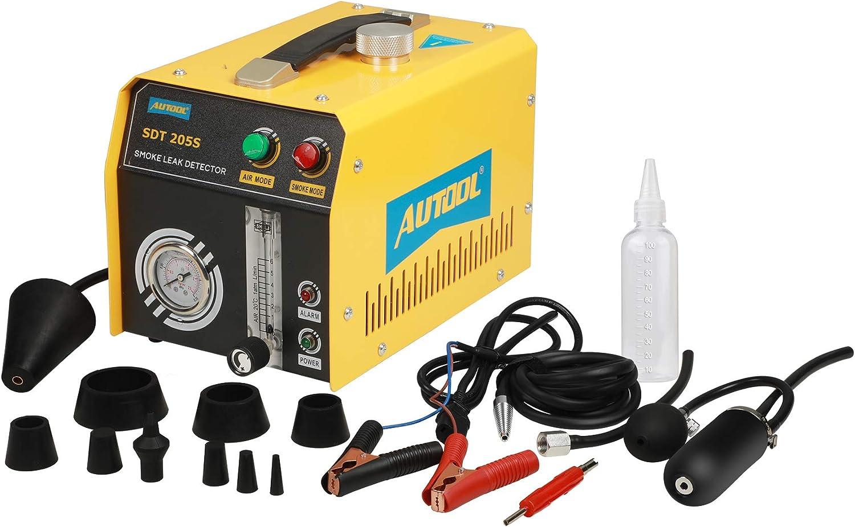 Tools & Equipment AUTOOL SDT205 Smoke Leak Detector 2 Mode ...