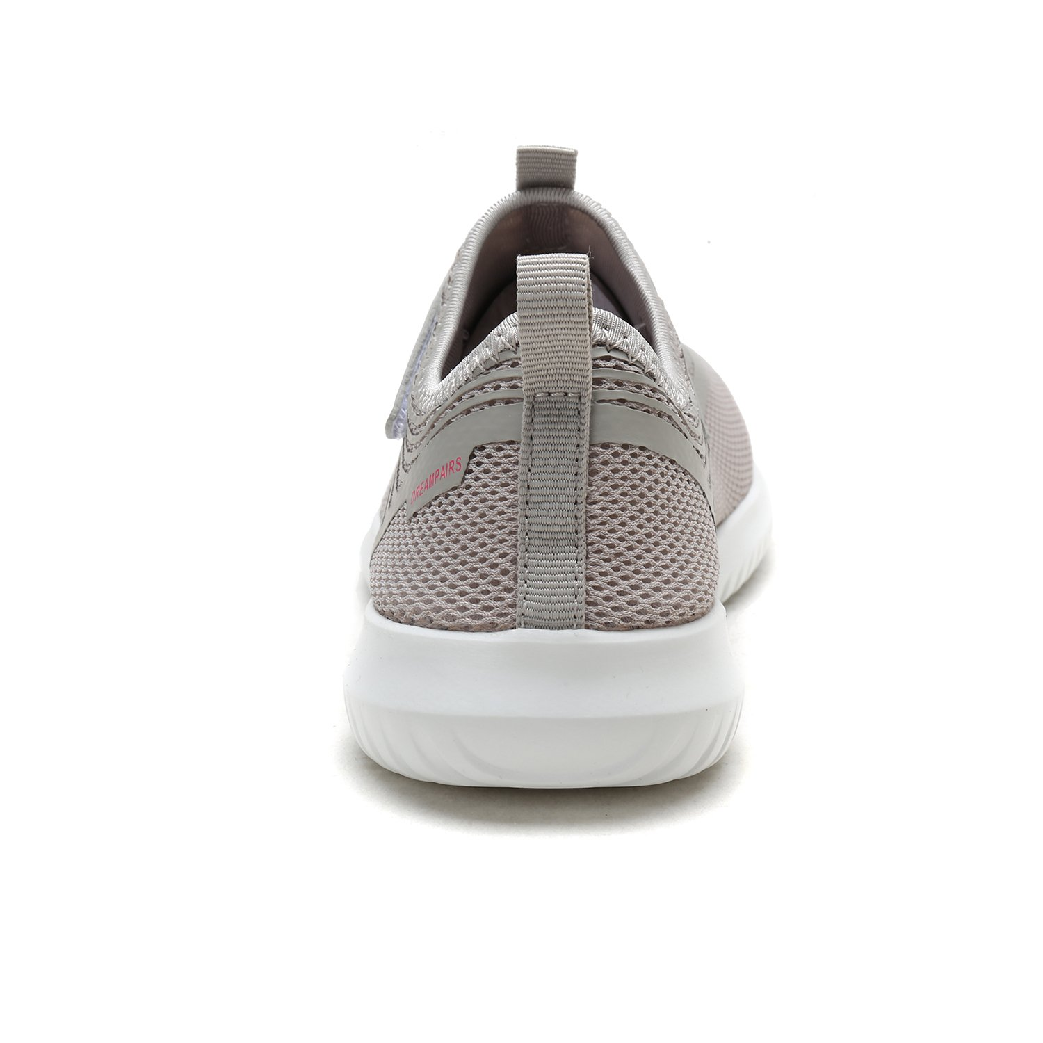 DREAM PAIRS Quick-Dry Water Shoes Sports Walking Casual Sneakers for Women B07886BVGR 9 M US|Lt.grey/H.pink
