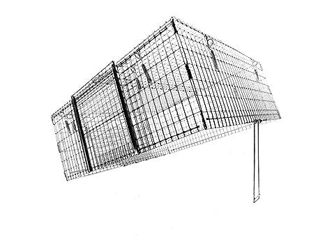 Amazon.com: Tomahawk Barrio gato gota trampa: Jardín y ...