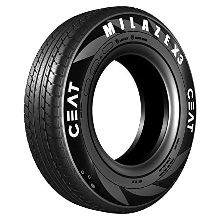 Ceat Milaze X3 165/80 R14 85S Tubeless Car Tyre (Home Delivery)