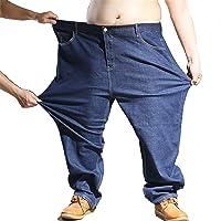 Heren Jeansbroek Extra groot Oversized Heren elastische stretch denim broek Heren Jean broek Denim broek Alle taille…