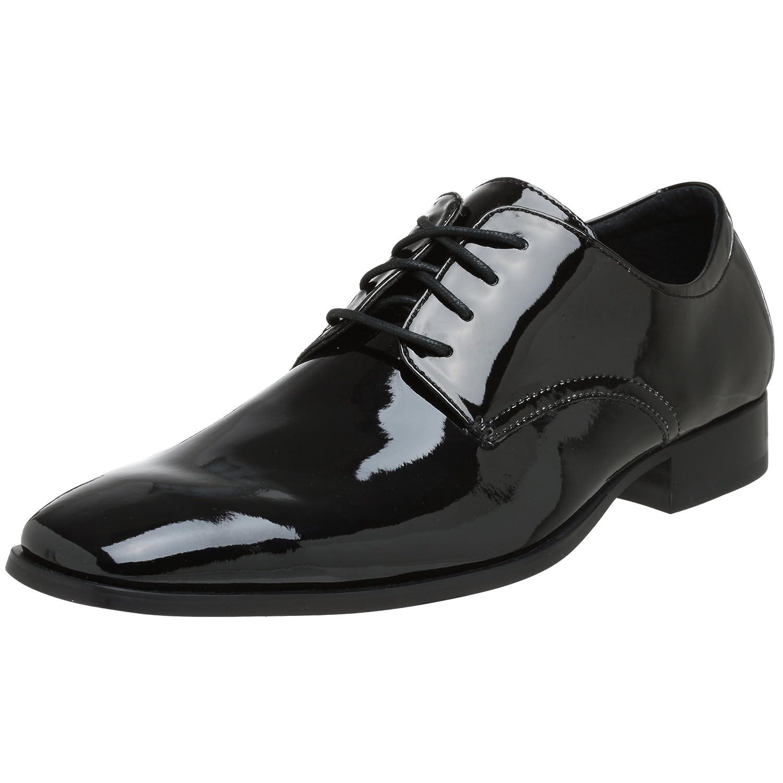 86681055451 Calvin Klein Men's Gareth 2 Patent Tuxedo Oxford
