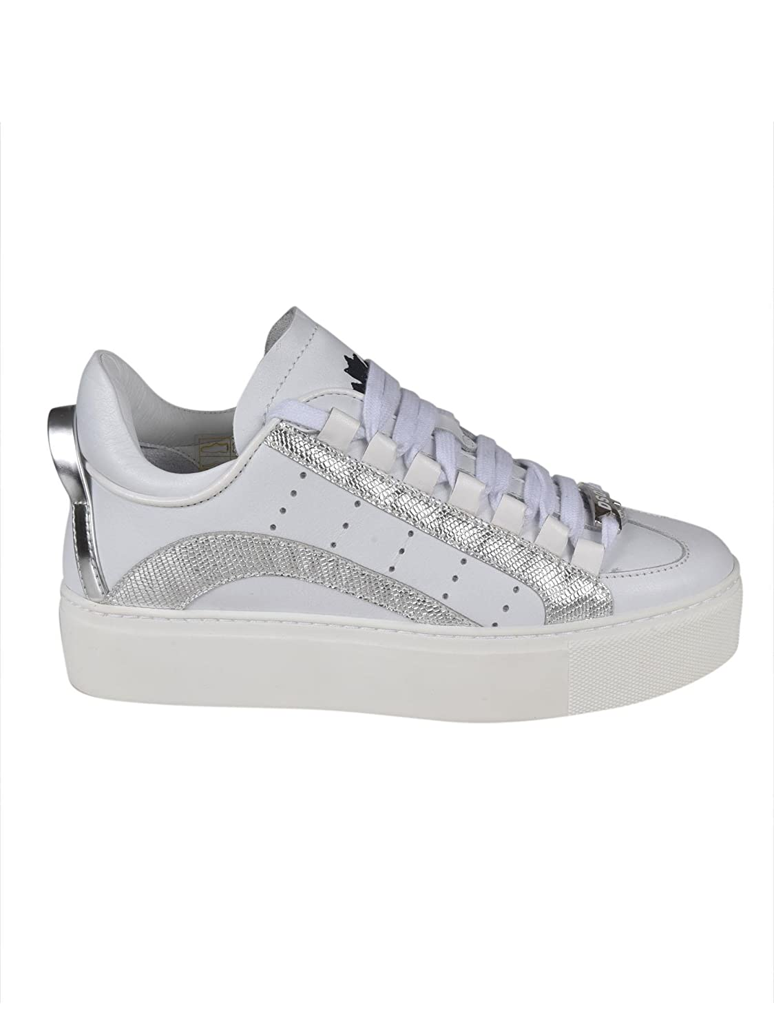 Dsquared2 Sneaker 551 Bianche SNW000310650001M241 Bianco Donna 40   Amazon.fr  Chaussures et Sacs 5e17466df2a9