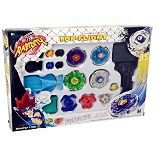 Z Beyblade Metal Fusion Masters Fight Launcher Rare Toy Set 4D