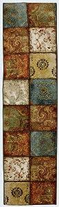 Mohawk Home Free Flow Artifact Panel Multi Rug, 2' x 5'