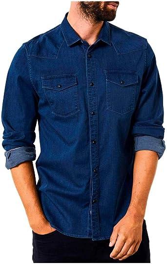 Petrol Camisa SIL403 para Hombre XXL Azul: Amazon.es: Ropa y accesorios