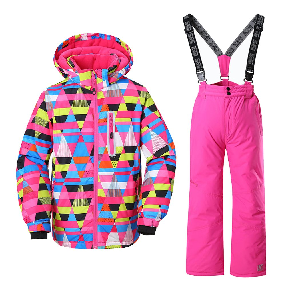 GS SNOWING Ski Jacket Snow Insulated Suit Windproof & Waterproof for Girls nvhx27