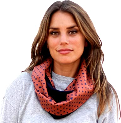 BRANDELIA Bufanda Otoño Invierno Mujer Cuello Reversible Estampado ...