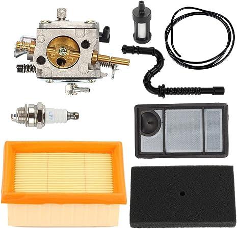 Amazon.com: butom TS400 carburador con Tune Up Kit de filtro ...