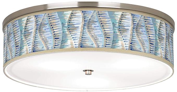 Amazon.com: Siren Giclee - Lámpara de techo (níquel, 20 1/4 ...