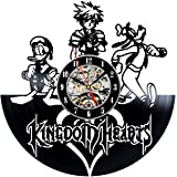Kingdom Hearts Vinyl Record Clock Wall Art Home Decor - Win a prize for feedback