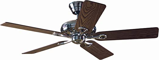 Hunter Savoy 24521 - Ventilador de techo, 5 palas, color niquel ...