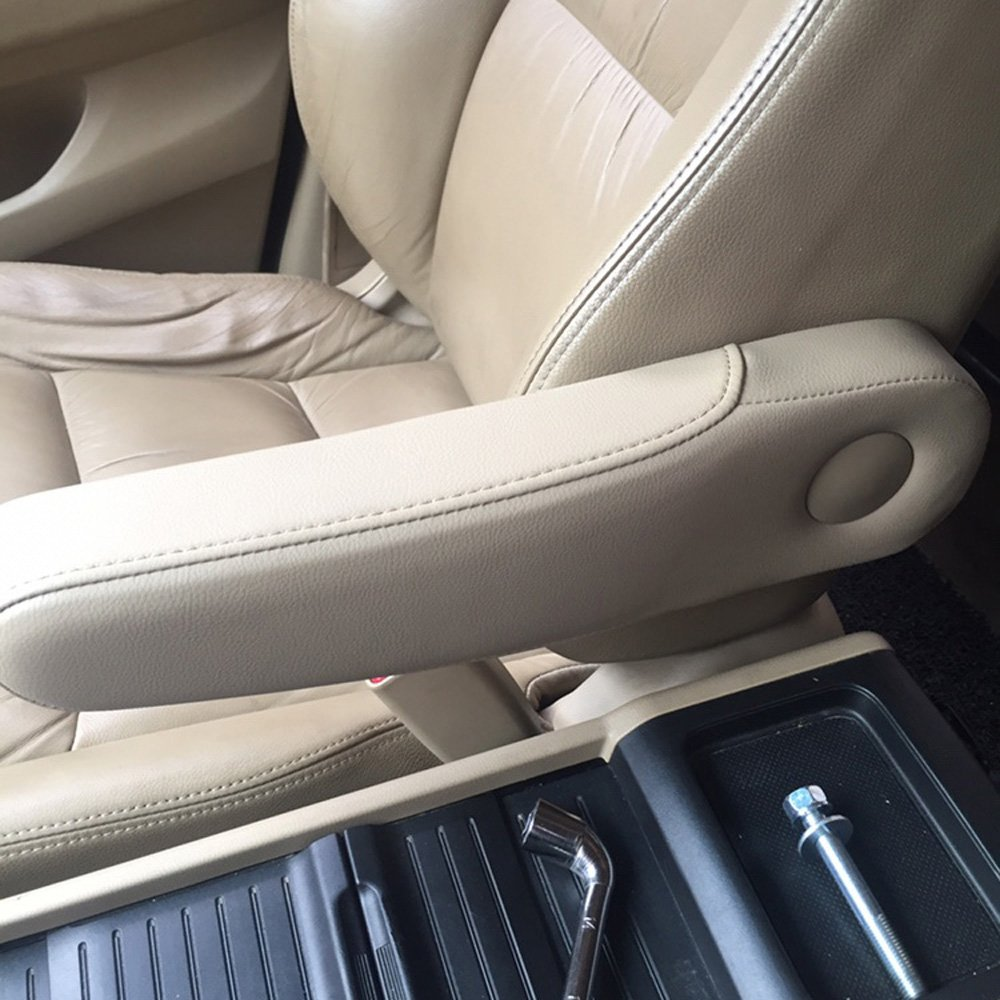 Odyssey Armrest Cover Replacement,Leather Seat Armrest Covers For 2005-2010 Honda Odyssey Beige