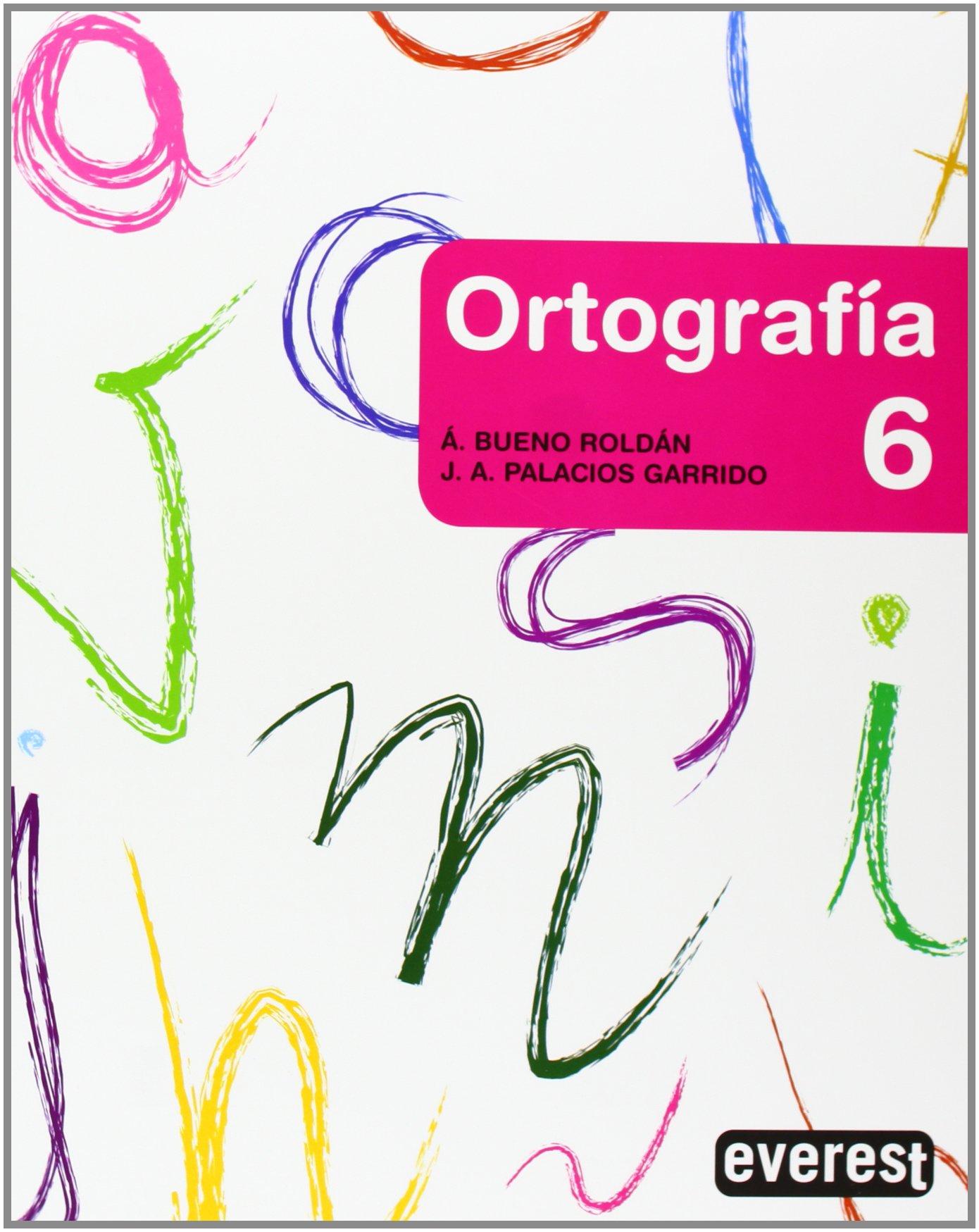 Download Cuaderno de ortografía 6, Educación Primaria ebook