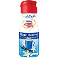6-Pack Coffeemate Liquid, French Vanilla, 16 Fl Oz