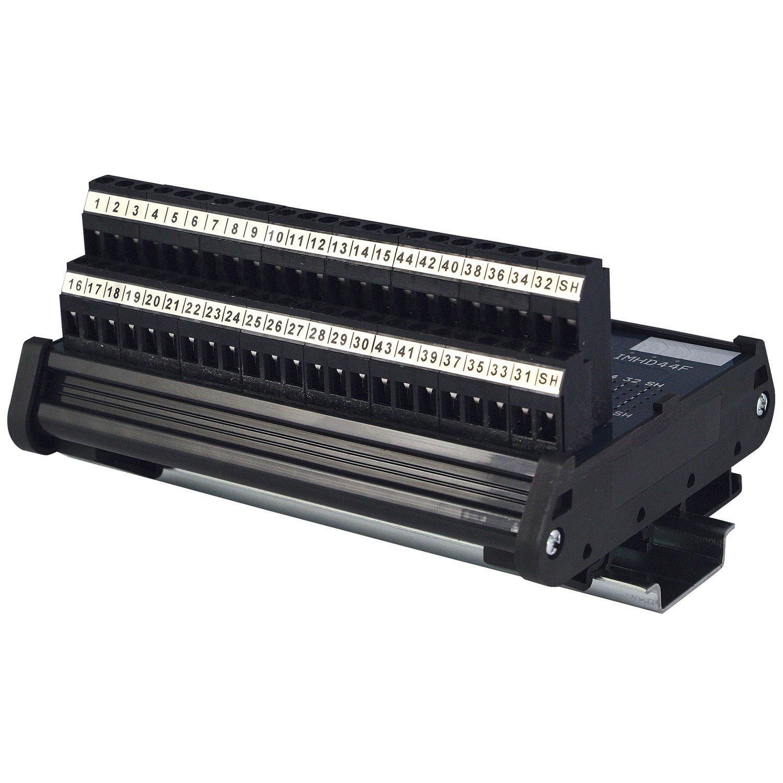 ASI 11105 Type IMHD44F Fixed Terminal Block, DIN Rail