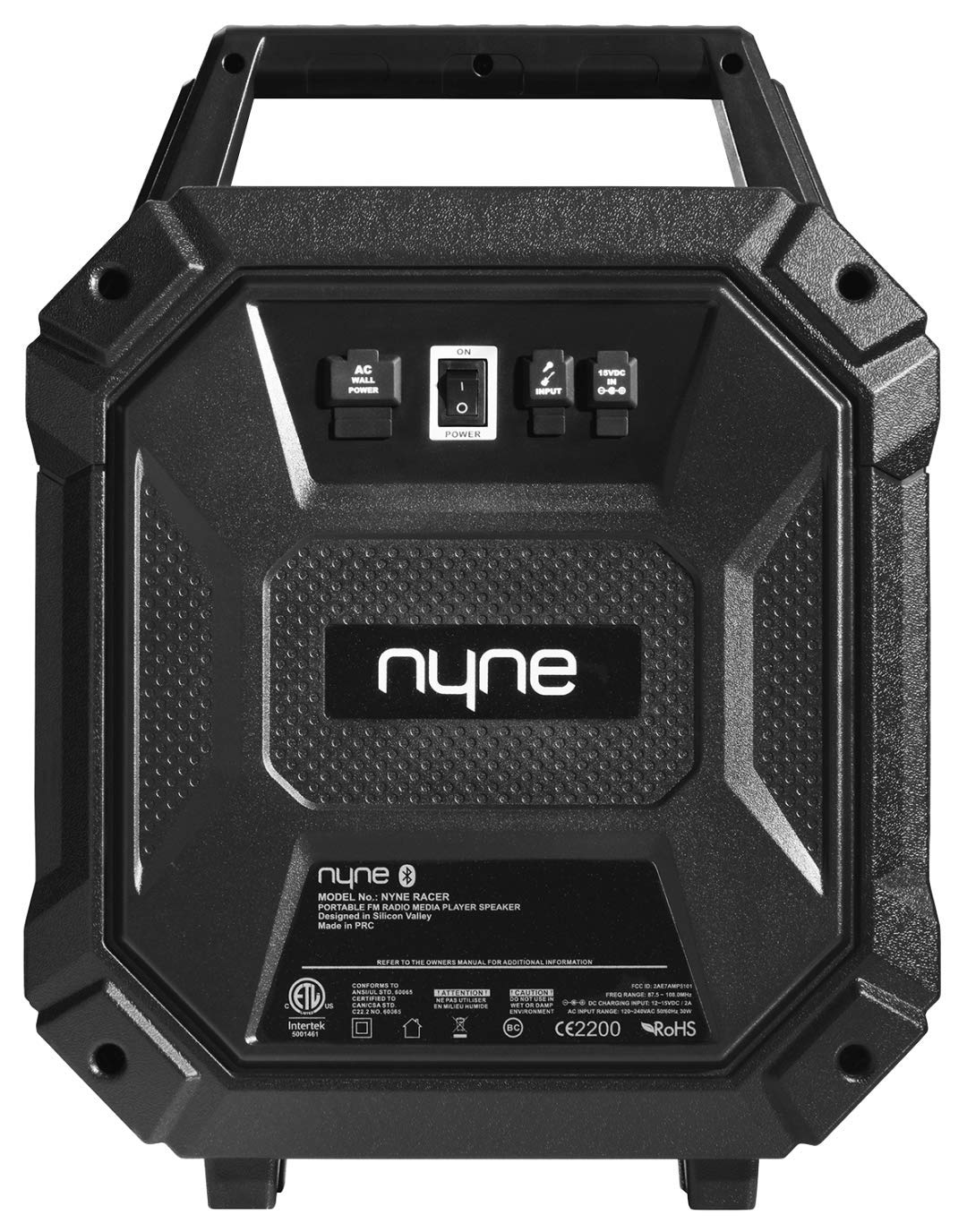 Amazon.com: Nyne Racer Sport Portable Wireless Party Speaker with Party Lights: Home Audio & Theater