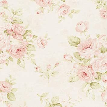 amazon com carousel designs pink floral fabric by the yard