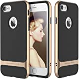 Original Rock Royce Cover Ultra Thin Shock Proof Dual layer Back Cover Case for Apple iPhone 7 4.7inch (Golden)