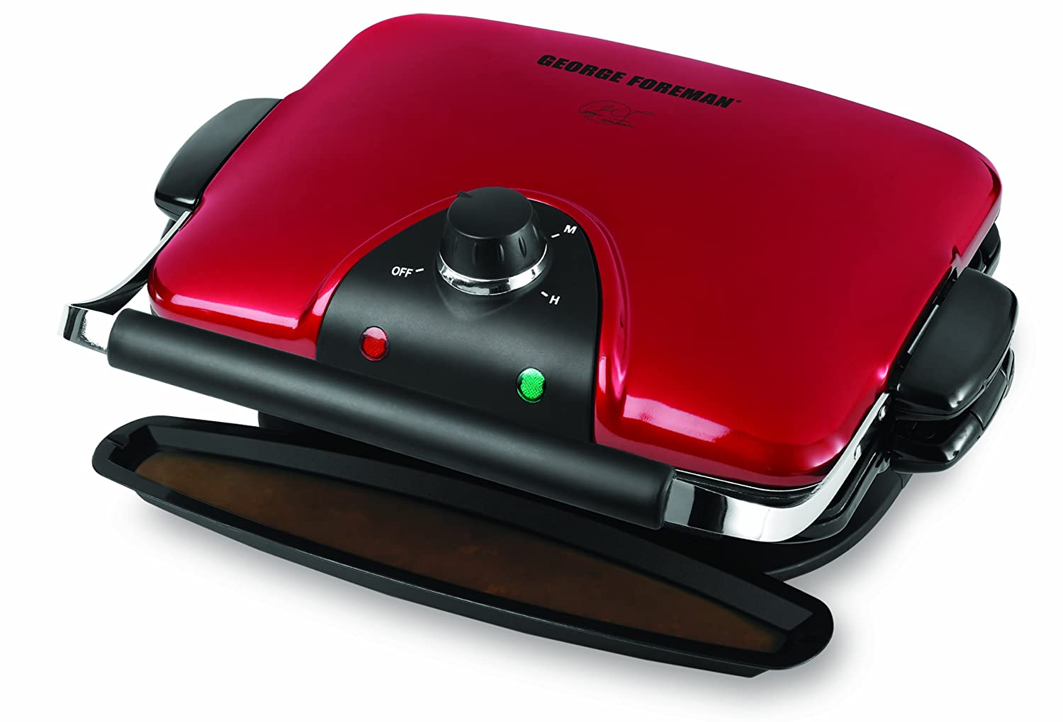 George Foreman GRP92R Indoor Electric Grill 1 Red