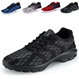 Caitin Men's Casual Walking Shoes Lightweight Breathable Running Tennis Sneakers