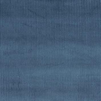 Amazon Com E381 Blue Corduroy Striped Velvet Upholstery Fabric By
