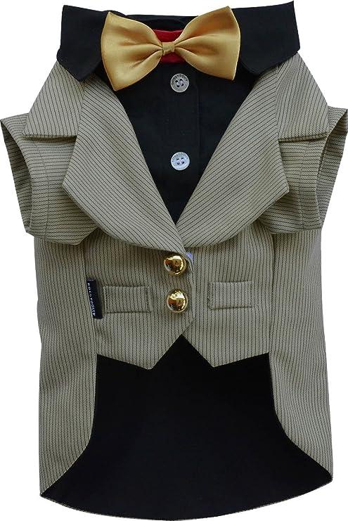 Tuxedo - Chaqueta para perro/Mascotas En Color Marrón Claro Con ...