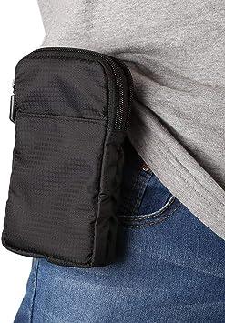 Hombres bolso de hombro Casual bolsa para teléfono móvil de