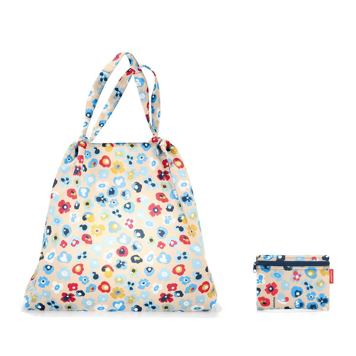 64 x 48 x 13 cm//volume 25 l//washable at 30 /°C Reisenthel mini maxi loftbag millefleurs dimensions