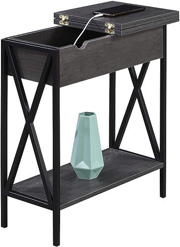 Convenience Concepts Tucson Flip Top End Table