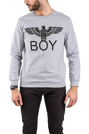 Boy London - Sudadera - para Hombre Gris XL: Amazon.es: Ropa y accesorios