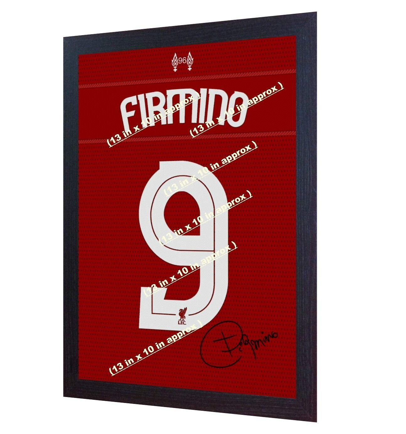 Roberto Firmino Signed Mounted Photo Display Liverpool FC #3 Autographed Gift Picture Print