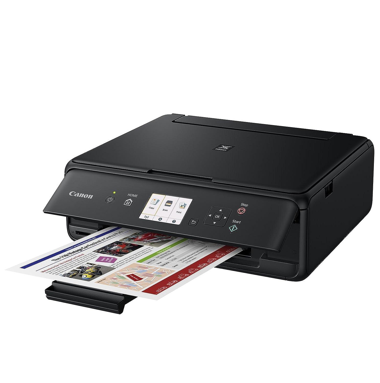 Impresora Multifuncional Canon PIXMA TS5050 Negra Wifi de inyección de tinta