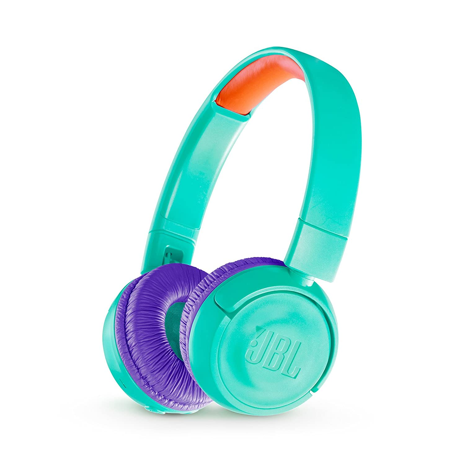 682e97e908f Amazon.com: JBL JR 300BT Kids On-Ear Wireless Headphones Safe Sound  Technology (Teal): Health & Personal Care
