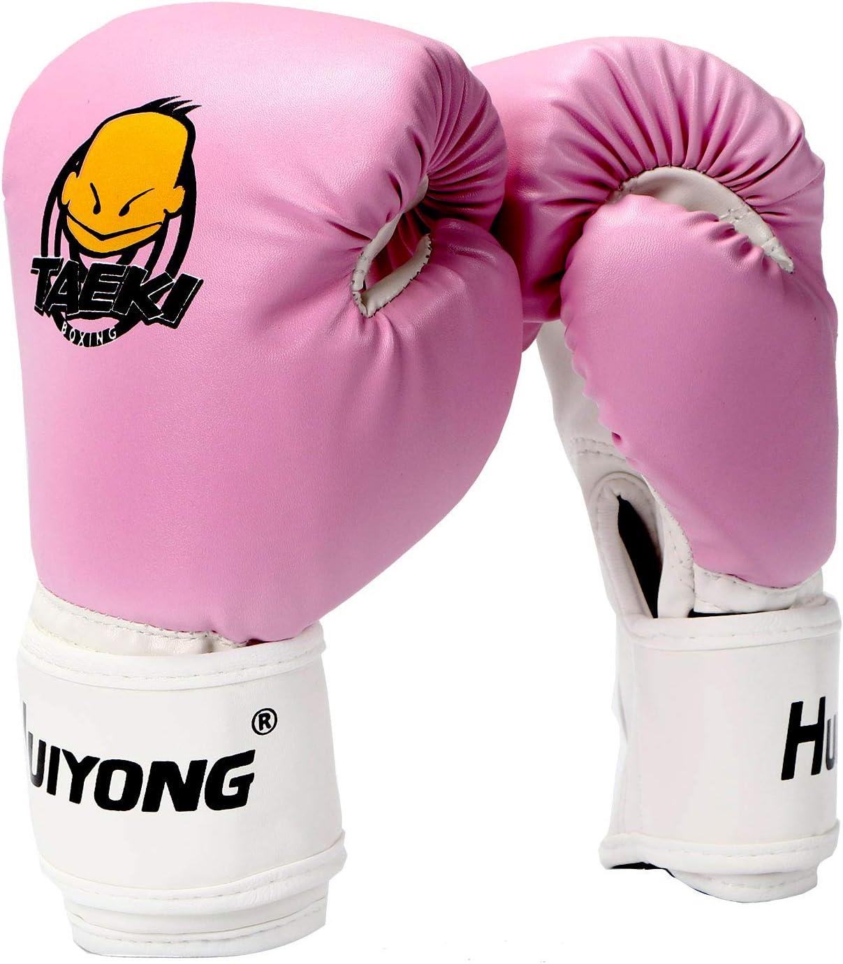 Children Boxing Gloves Kids Punch Training Sparring Boys Girls Kids Fight Mitts