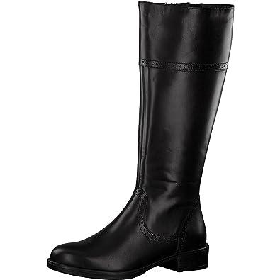 Tamaris Damen Stiefel 25547-21,Frauen Boots,Lederstiefel,Reißverschluss,Blockabsatz  3.5 55e6790c6d