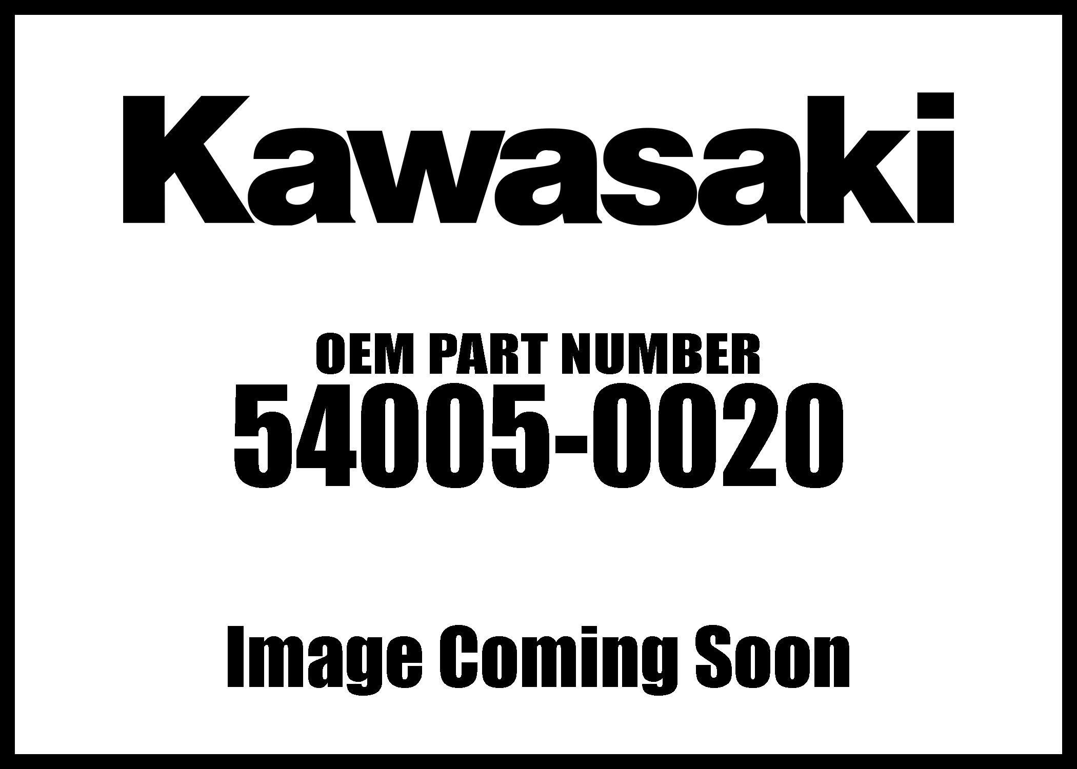 Kawasaki 54005-0020 08 Brute Force 650 4x4 Parking Brake Cable KVF650 QTY 1
