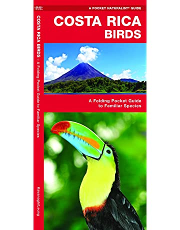 Costa Rica Birds: A Folding Pocket Guide to Familiar Species (Pocket Naturalist Guides)