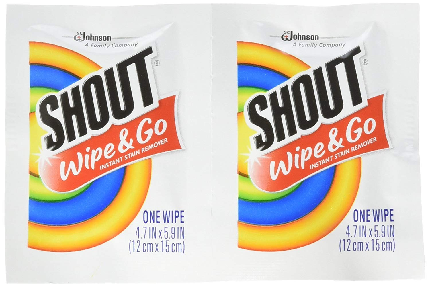 Shout Wipes case of 80