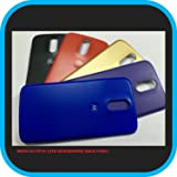 D-kandy - Battery Shell ! Replacement Back Cover Panel For MOTO G4 PLUS 4TH GENERATION (Five Colours-Black,Gold,Blue,Purple,Red)