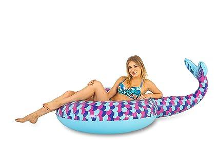 SummerFan Cola de Sirena - Gigante, Hinchable para Piscina ...