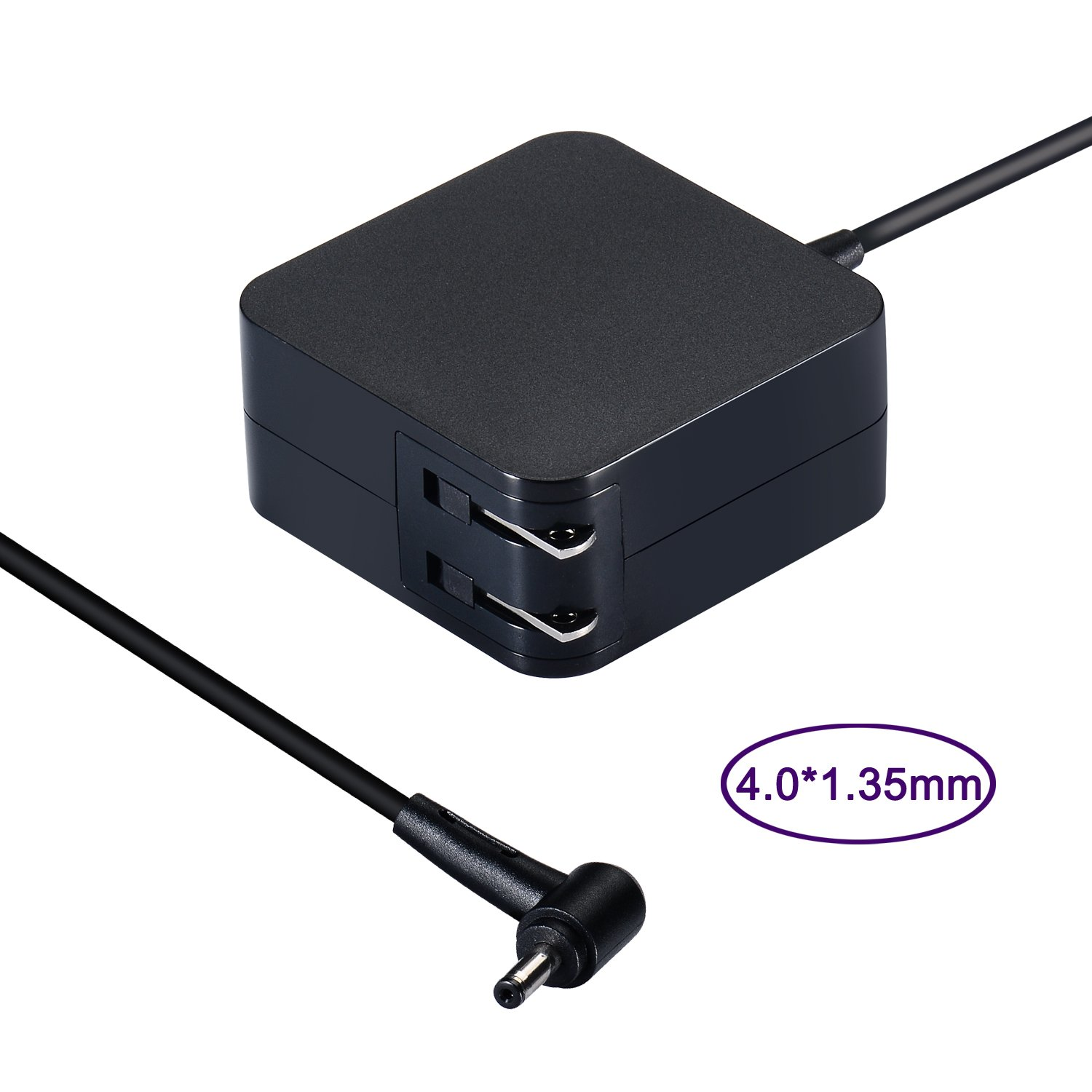 Laptop Power Supply 45W Notebook Charger for Asus UX330 UX330U UX360 UX360C UX305 UX305C X540 X541 F553 F553M F556 F556U F302 K556 K556U Taichi 21 31 ASUS AC Adapter (45W 19V 2,37A & 33W 19V 1,75A) by Purpleleaf (Image #2)