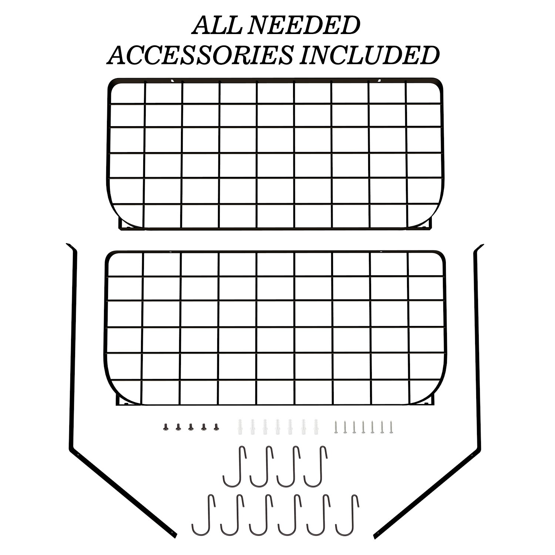 VDOMUS Shelf Pot Rack Wall Mounted Pan Hanging Racks 2 Tire (Black) by VDOMUS (Image #6)